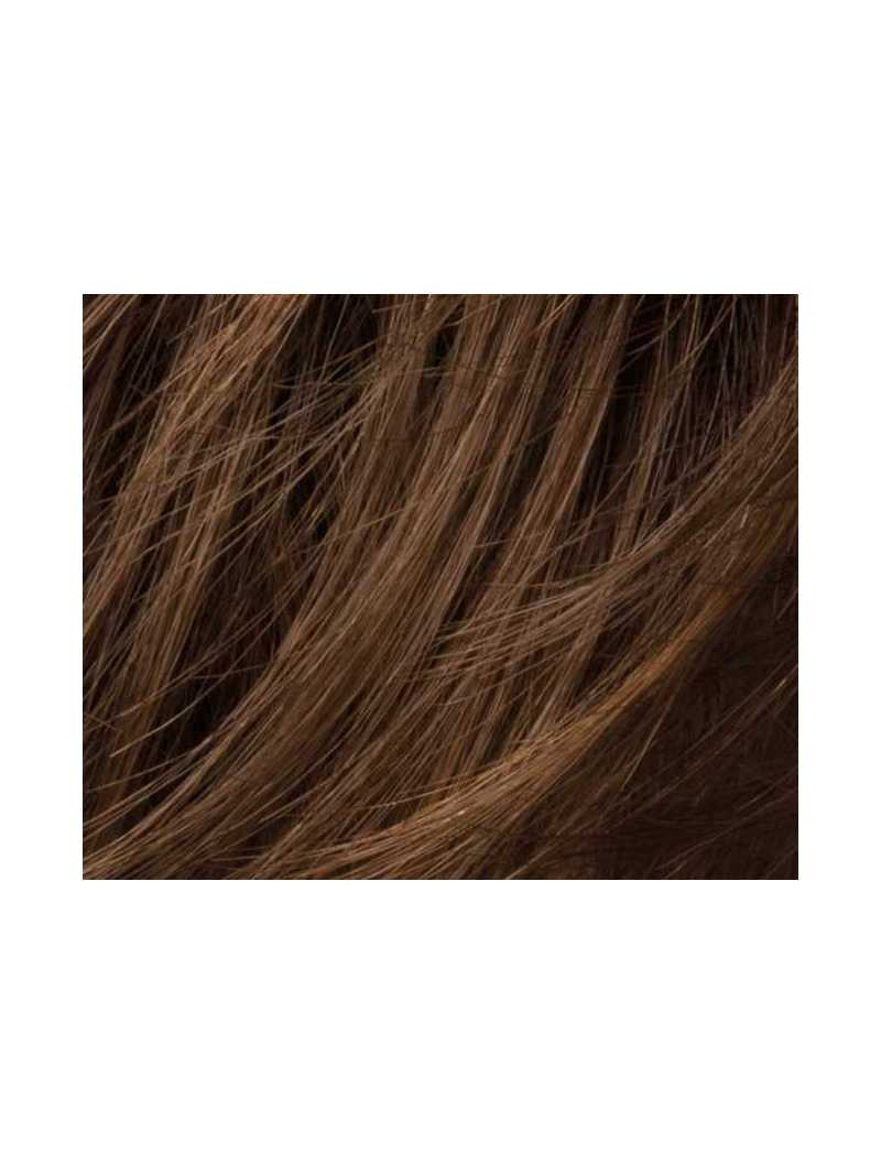 chocolate mix- Perruque synthétique courte lisse Cara  Small deluxe