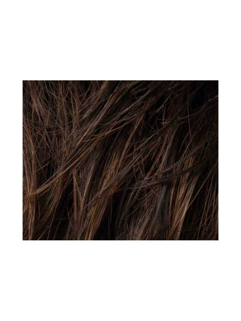 dark chocolate mix- Perruque synthétique courte lisse Light Mono