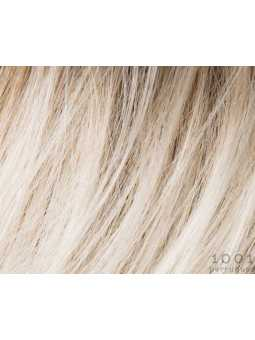 lightchampagne rooted-Perruque synthétique courte lisse Run Mono