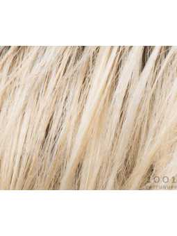 champagne rooted- Perruque synthétique carré lisse Young mono