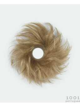 Chignon élastique synthétique lisse Grog : Light blonde 25.26