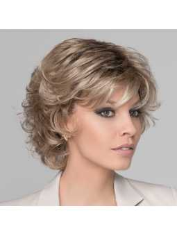 Perruque synthétique courte wavy Daily-  champagne rooted