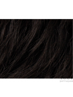 Ebony black 1 - Perruque synthétique carré lisse Change