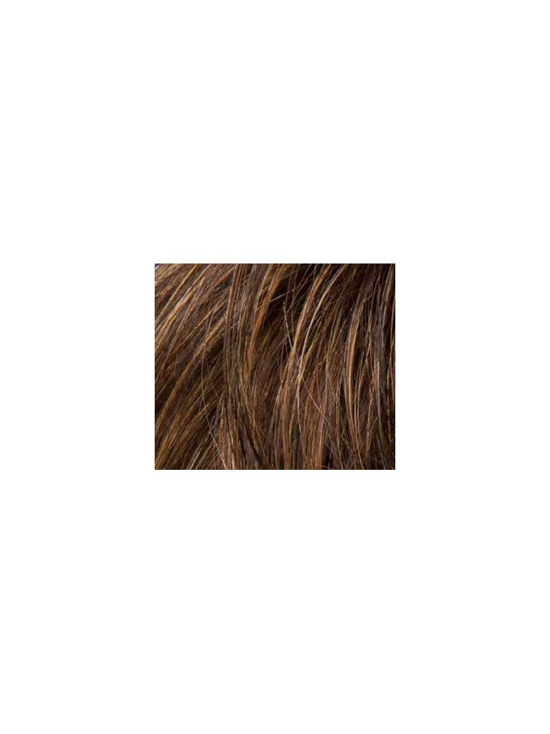 mocca rooted- Perruque synthétique courte wavy Lucia small