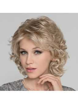 Perruque synthétique mi longue wavy Gina mono- champagne mix