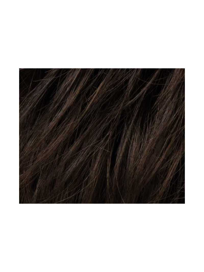 Espresso rooted 4.6.2 - Perruque synthétique courte lisse Stay