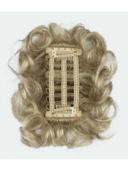 Extension capillaire synthétique courte bouclée Sherry: Light blonde 6.30.4
