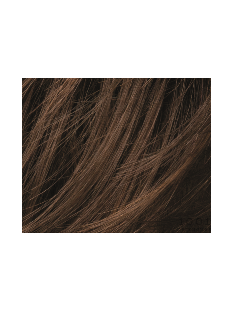 chocolate mix-Perruque synthétique carré mi long lisse Queen comfort