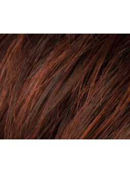 auburn rooted-Perruque synthétique mi longue wavy Ocean