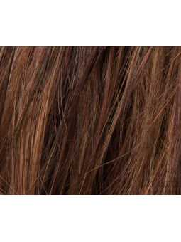 hot chocolate rooted- Perruque synthétique longue lisse Glamour mono