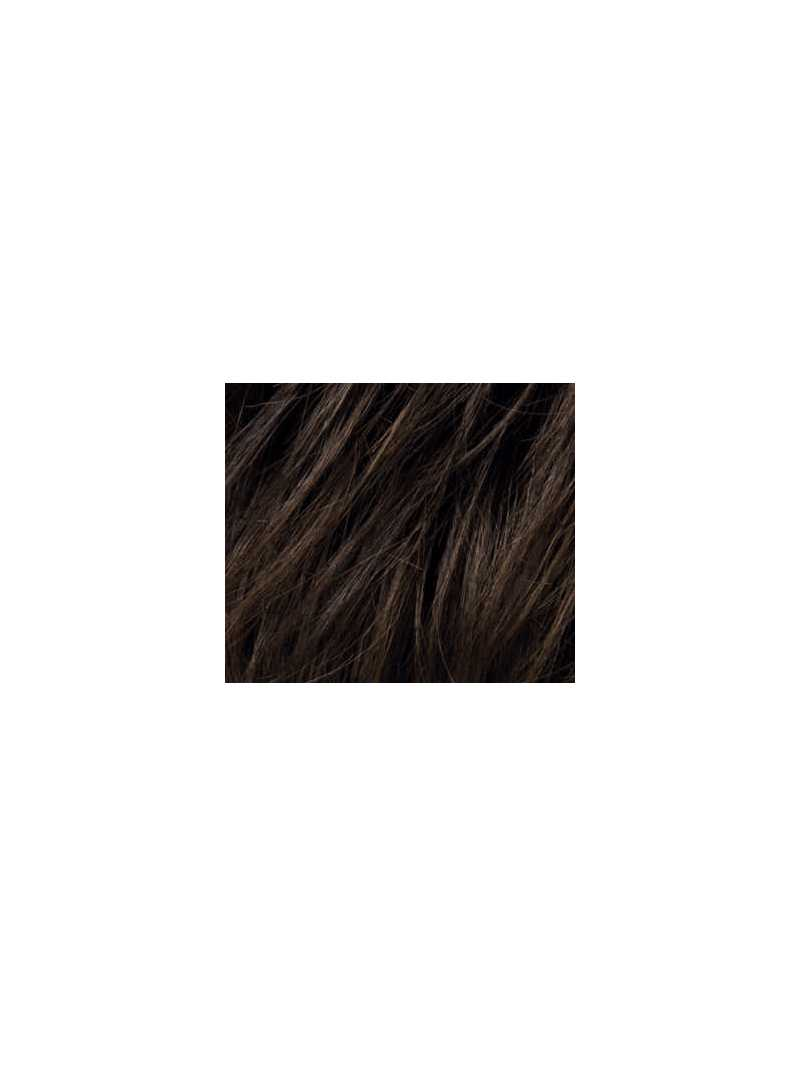 light espresso mix- Perruque synthétique longue lisse Miley small mono