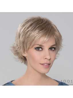 Perruque synthétique courte lisse Date Mono- champagne mix