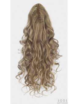 Extension capillaire synthétique longue bouclée Sangria : Natural blonde 22.20