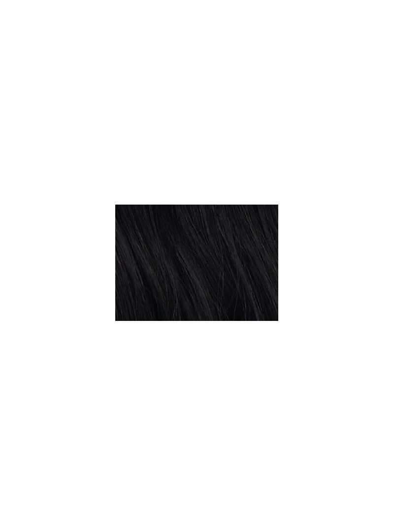 Extension capillaire à frange synthétique lisse mi longue Sage : dark brown 4.2