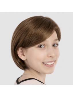 Perruque carré lisse enfant fille Emma - Ligthbrown