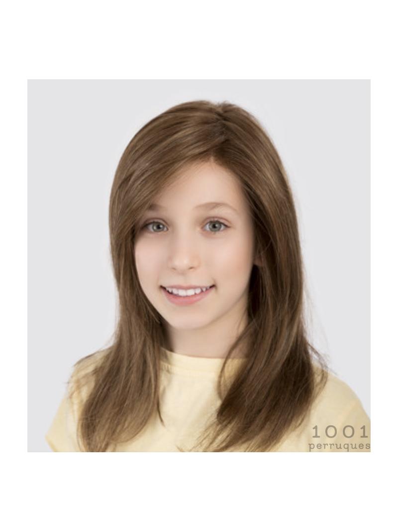 Perruque longue lisse enfant fille Sara - lightbrown