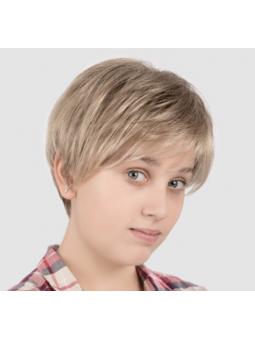 Perruque courte lisse enfant fille Nelle - coloris goldblonde