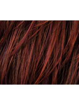 Perruque courte lisse fibres naturelles Amaze: Hotchili mix