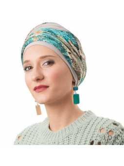 Turban chimiothérapie Nadia - sirène