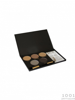 Palette de maquillage pour sourcils semi permanent