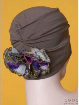 Bonnet chimiothérapie à fleur Diva