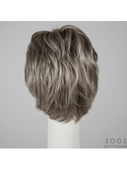Perruque synthétique courte lisse Citta mono- silver rooted