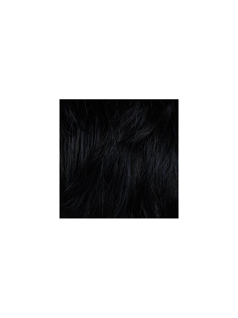 Perruque synthétique lisse carré mi-long Blues - Coloris Cosmoblack