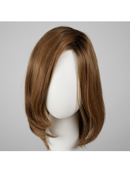 Perruque naturelle carré long lisse Trinity plus soft cooper rooted