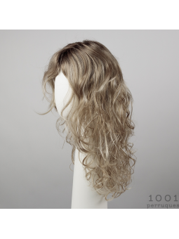 Perruque synthétique longue bouclée Lola more -Sandyblonde rooted
