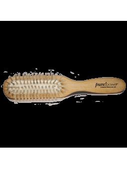 Brosse en bois pour cheveux naturels Purepower ellen wille