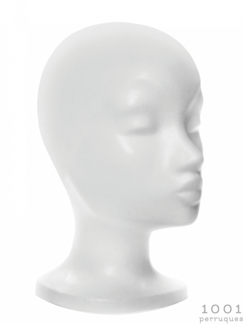 Tête en polystyrène