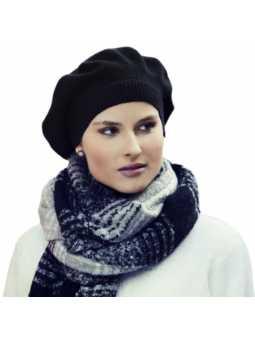 Béret chimiothérapie en laine acrylique douce Elinor Ultra