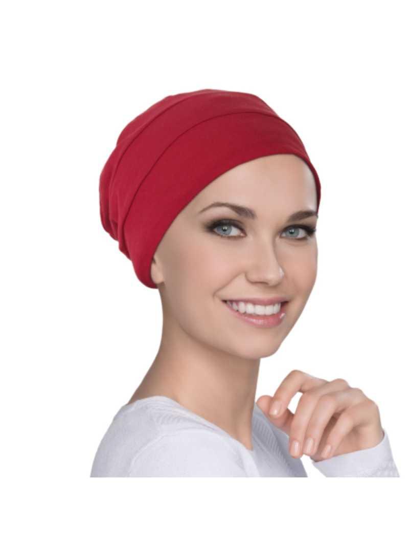Bonnet chimiothérapie Tala en bambou Ellen Wille - Red