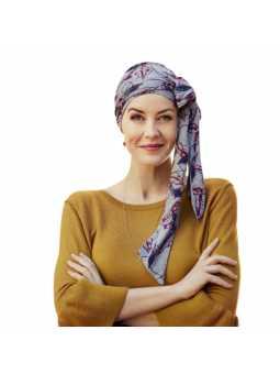 Turban foulard chimiothérapie Bambou