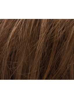 Mocca rooted 8.27.12 - Perruque naturelle carré long lisse Trinity plus