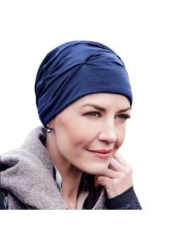 Bonnet chimiothérapie laine Ankaa thermorégulateur - minéral