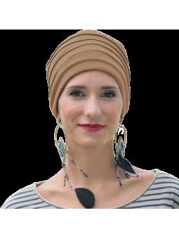 Bonnet chimiothérapie Lola Hiver doublé beige