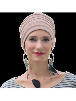 Bonnet chimiothérapie Lola Hiver doublé sablé