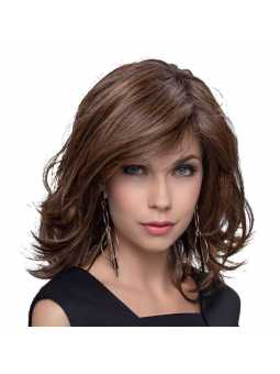 Perruque synthétique mi longue wavy Alive  Chocolate rooted