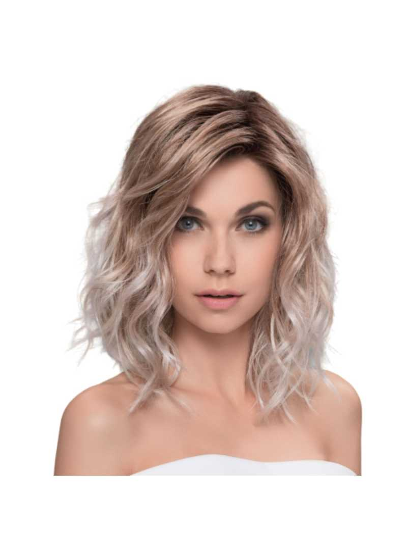 Perruque synthétique mi longue wavy Touch