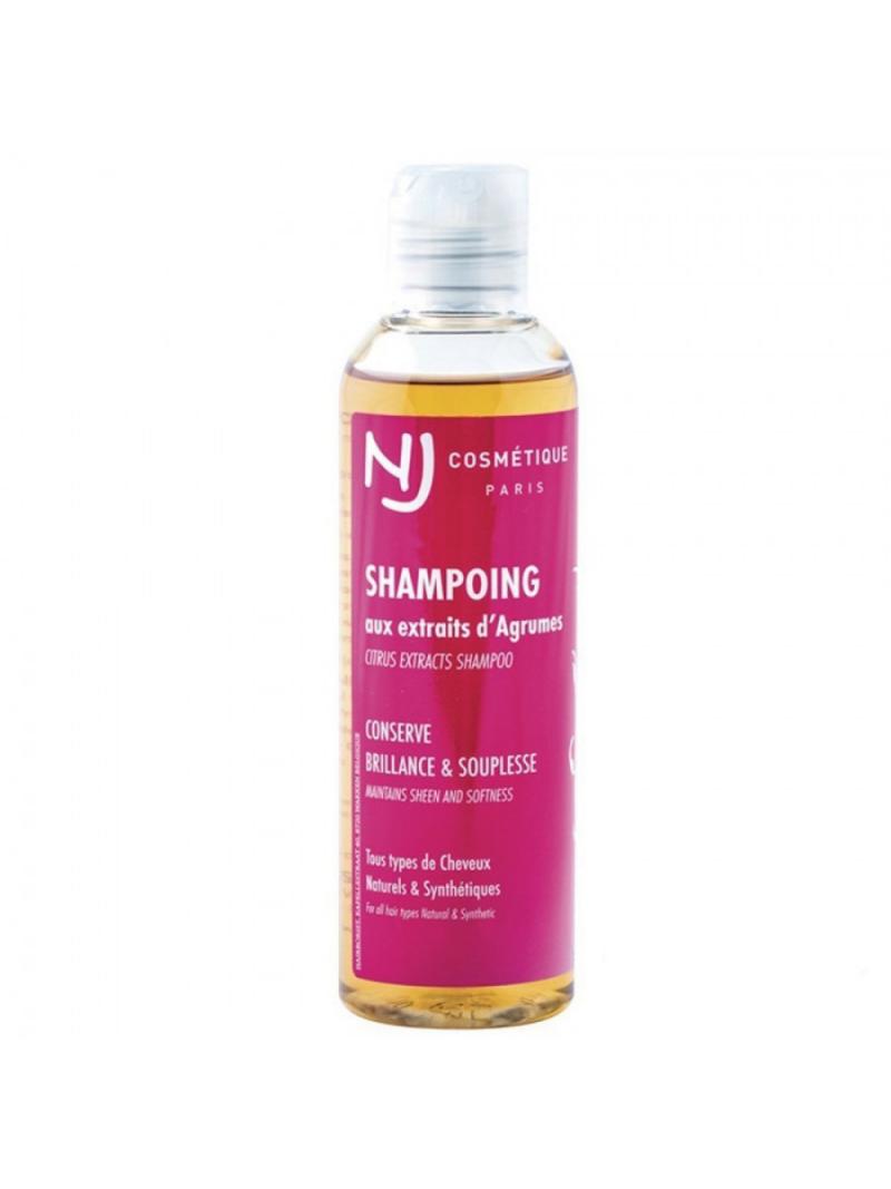 Shampoing aux agrumes cheveux naturels et