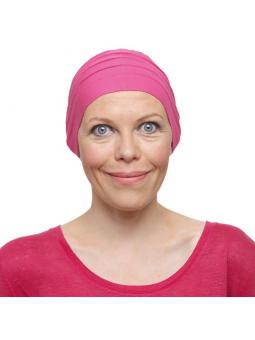 Bonnet chimiothérapie Lola ultra léger -fushia