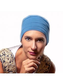 Bonnet chimiothérapie Lola ultra léger  - cobalt