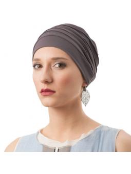 Bonnet chimiothérapie Lola ultra léger  - taupe