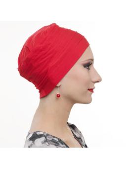 Bonnet chimiothérapie Lola ultra léger  - rouge