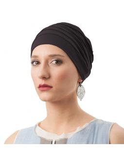 Bonnet chimiothérapie Lola ultra léger  - noir