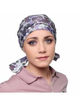 Turban à nouer en coton Romy  - Telia