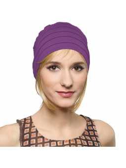 Bonnet  chimiothérapie Lola Sun  - améthyste