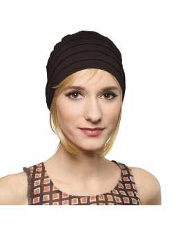 Bonnet  chimiothérapie Lola Sun - noir