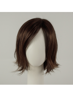 Perruque synthétique mi longue wavy Shuffle - chocolate mix